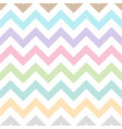 zigzag pattern of soft colors having lines in vector image