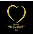 Happy Valentine s day greeting card vector image