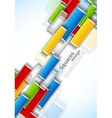 Background with rectangles vector image vector image