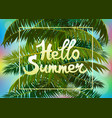 banner summer vacation and travel design vector image vector image