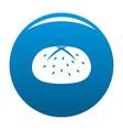 bun icon blue vector image vector image