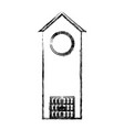 church tower icon vector image vector image