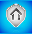 house home on shield home security vector image