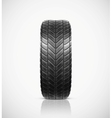 Isolated tire vector image