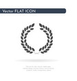 laurel wreath icon for web business finance and vector image vector image