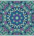 oriental filigree pattern vector image vector image