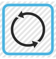 Recycle Icon In a Frame vector image vector image