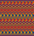 seamless ethnic pattern tribal seamless vector image vector image