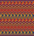 seamless ethnic pattern tribal seamless vector image