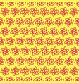 seamless pattern on light yellow background vector image