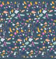 terrazzo tile background pattern design vector image vector image