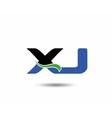 XJ logo vector image vector image