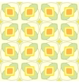 Pattern with geometric shapes in 1970s style vector image
