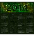 Calendar14 05 vector image