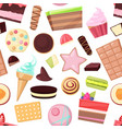 confectionery sweets chocolate candies vector image