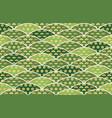 japanese auspicious seamless pattern vector image vector image