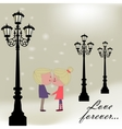 Love forever vector image vector image