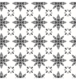 pattern in the old style with curls vector image vector image