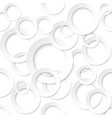 rings shape sticker on white background for vector image vector image