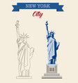 Statue of liberty world landmark american symbol