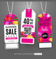 summer sale event vector image vector image
