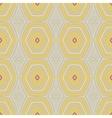 vintage pattern fifties wallpaper vector image vector image