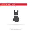 dress icon for web business finance and vector image vector image