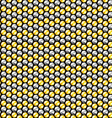 Gold and silver crystal sequins seamless pattern vector image vector image