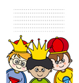 Letter to the Three Kings vector image vector image