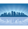 New Orleans Louisiana skylin vector image