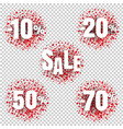 special offer price sign isolated transparent vector image vector image