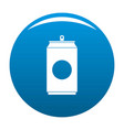 soda icon blue vector image
