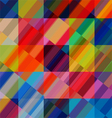 abstract colorful background with geometrical vector image vector image