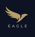 abstract flying eagle icon