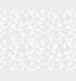 seamless polygonal pattern vector image