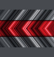 abstract red gray arrow line pattern direction vector image vector image