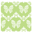 Butterfly Ornament Pattern vector image vector image