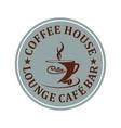 caffe bar vector image vector image