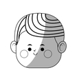 kawaii boy icon vector image vector image