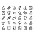 laundry icon garment care guide hand and machine vector image