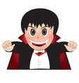 Little Dracula vector image