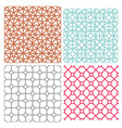 modern mesh seamless pattern in geometric style vector image vector image