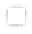 pixel square white plane with gray shadow vector image vector image