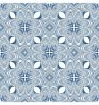 floral blueprint mediterranian pattern vector image vector image