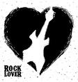 hard rock design vector image vector image