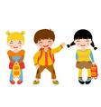 School kids vector image vector image