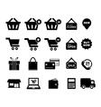 Shopingg Icon vector image vector image