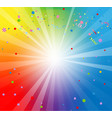 spectrum color backdrop vector image