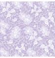 Gentle seamless violet vintage pattern vector image vector image
