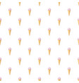 ice cream cone pattern vector image vector image